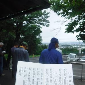 梅雨の合間の作業7月4日