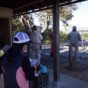 里山作業 上寺の森2021年10月23日