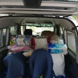 熊本へ向けて荷造りしました