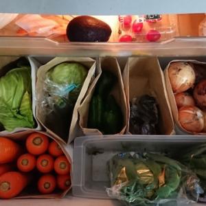 冷蔵庫や放置していたお菓子の整理