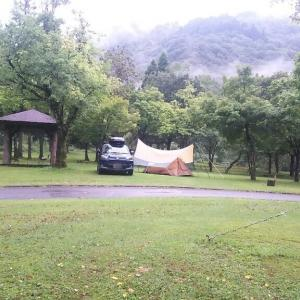 麻那姫湖キャンプ場(ソロキャンプ)