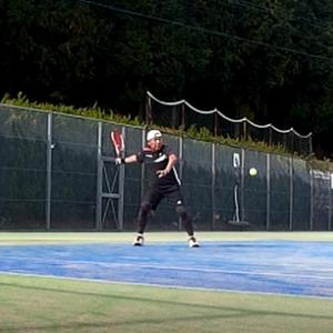 テニス日和にシングルス大会