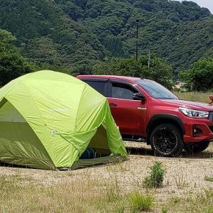 テント新調 そして試し張り兼ねてのデイキャンプ
