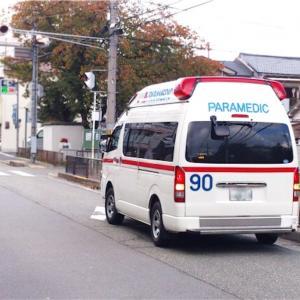 【育児】先日、初めて救急車に乗る事に…