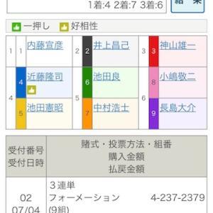 【FⅠ】佐世保初日特選 400円ケチった末路と朝のメモ