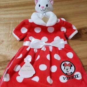 可愛すぎて即買いしたミニー ちゃんのドレス風タオル!