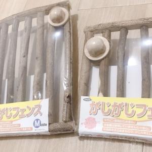 【グッズ情報】チンチラのケージをかじる音や歯の歪み対策!がじがじフェンスを取り付けてみた。