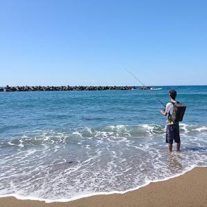 越前、遠州灘の海~たとえ「かめの歩み」でも