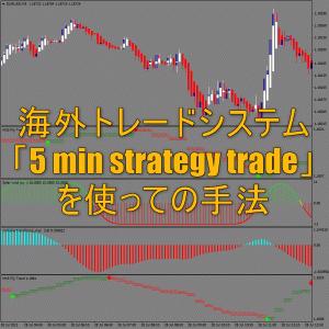 海外トレードシステム「5 min strategy trade」を使っての手法