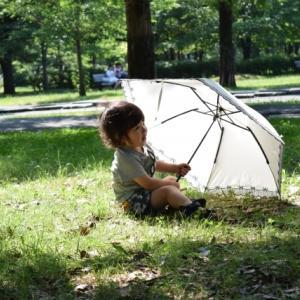 【日傘】ひんやり傘が手放せません!
