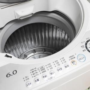 洗濯槽のお掃除は簡単なのに達成感あり!