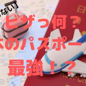 【意外と知らない】ビザのこと&ジャパニーズパスポート最強説とは
