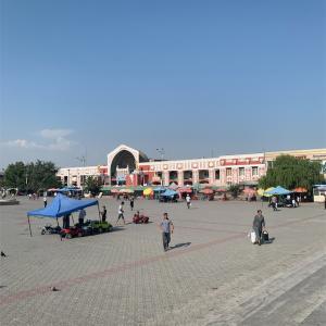 【タジキスタン】<ホジャンド>たまには街ブラ報告