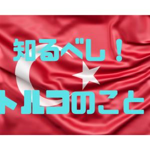 【大切!】知っておきたいトルコのこと①(全2回)