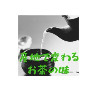 【検証】お茶の味は産地で変わるのか?