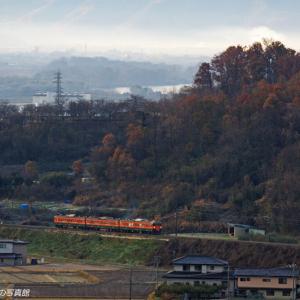 しなの鉄道 豊野 (3)  ~長野市街方向も俯瞰~
