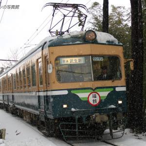 福井鉄道 西山公園 (1)  ~10年前の雪景色~