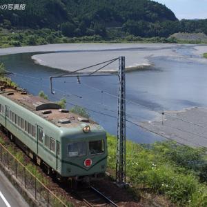 大井川鉄道 塩郷 (1)  ~吊橋の上から~