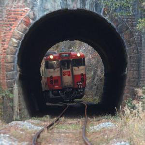 福渡 (1)  ~国道歩道からトンネル抜き~