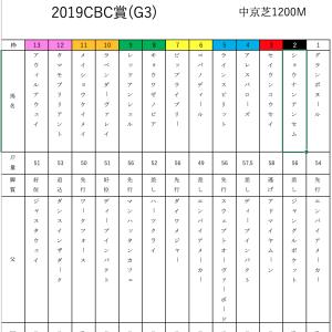 波乱の予感(● ˃̶͈̀ロ˂̶͈́)੭ꠥ⁾⁾ 2019CBC賞
