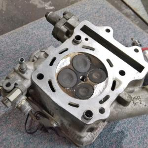 グランドアクシス 400 (CK45 DOHC 400) ターボ 圧縮調整