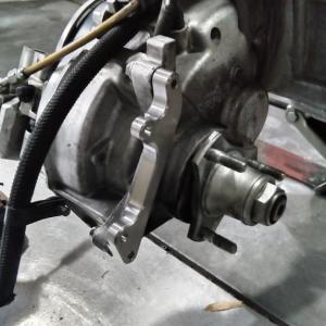 グランドアクシス 400 (CK43 SOHC 400) ターボ リアブレーキ