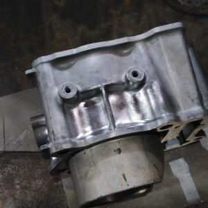 グランドアクシス 400 (CK45 DOHC 400) ターボ ボアアップ準備