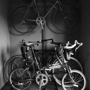 床の間自転車  完成です!?