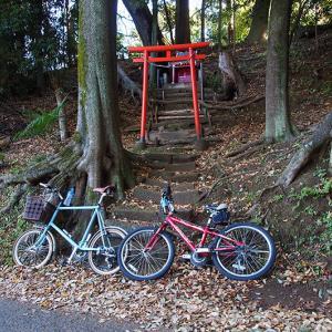 親子サイクリングと使えねぇ携帯ポンプ!!