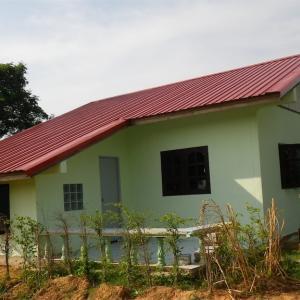 イサーンの田舎で家を建ててみた…費用