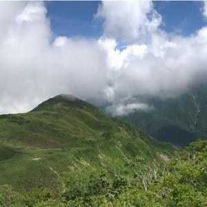 雨飾山に登ってみた