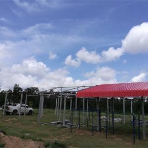 タイで家を建てるっと言うか、日陰を作らないとならないよね