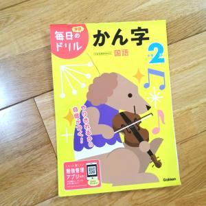 ハムスターを育てる漢字ドリル完了→2冊目はどうする?