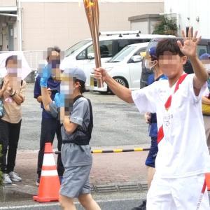 願いを込めて。オリンピックの聖火ランナーとして走る。