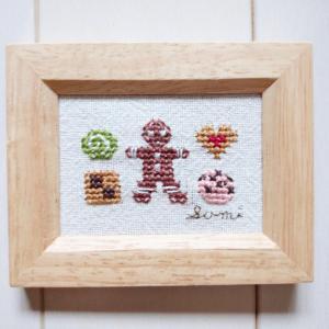 クッキーの壁飾り