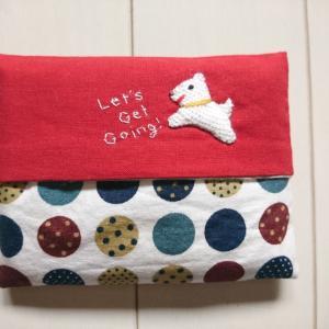 犬のポケットティッシュケース