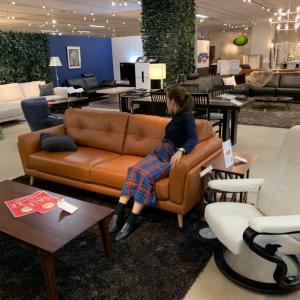 NO.76 新居とともに新ソファーを考える カリモクと大塚家具に行ってみた