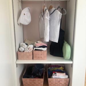 本棚をお支度スペースに。0年生になるかもしれない娘について