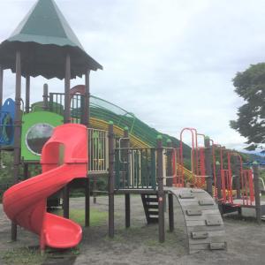 道の駅矢瀬親水公園|広々とした公園で子供と遊べる道の駅