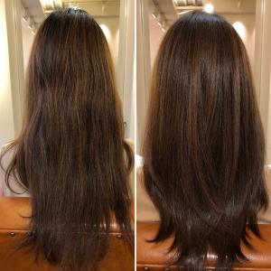 紫外線、ヒートスタイリングによる酸化毛