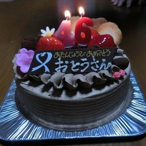 チョコケーキと鉄板焼き