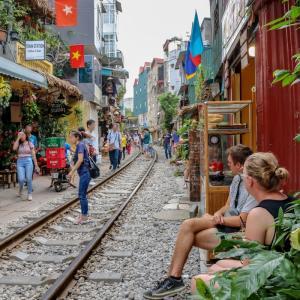【旅行者落胆】トレイン・ストリート消える⁉ in Hanoi