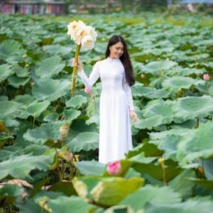 【最愛】蓮畑で見習いたい!アオザイ着こなし10選 in Hanoi
