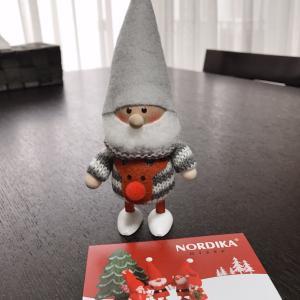 北欧 可愛すぎるノルディカニッセのサンタさん