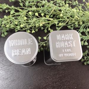 《セリア》コーヒー缶の収納方法