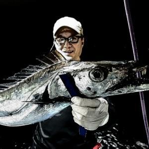 昨日のイサキと太刀魚の動画 鹿児島錦江湾海晴丸