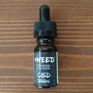 【CBDレビュー】+WEEDのCBDリキッドピーチシャンパン5%の効果を体験しました。