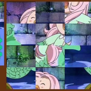 アマビエのスライドパズル