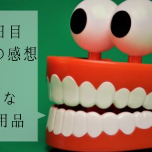 インビザライン100日目 3ヶ月の感想と新たなケア用品 (7/22)