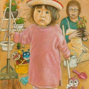 孫娘の肖像3/1歳7カ月 (孫娘の肖像3-26)